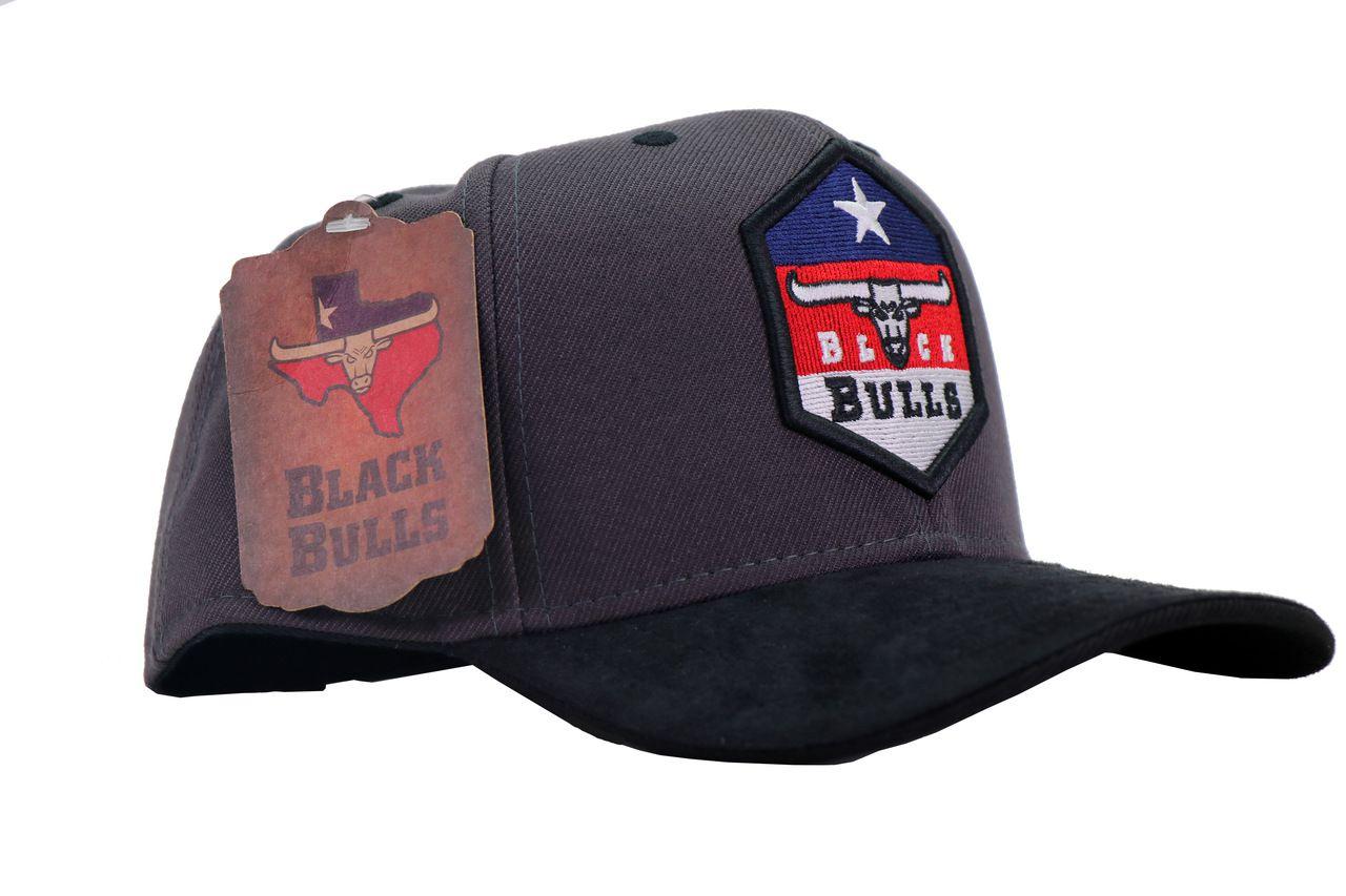 Boné Black Bulls - Cinza