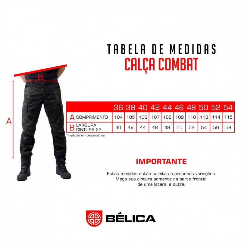 Calça Tática Combat Bélica - Verde