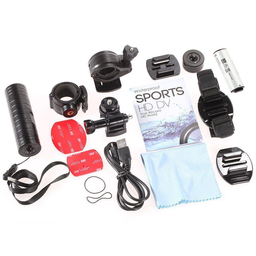 Câmera Digital De esporte De Ação - Portátil - FULL HD - MC30