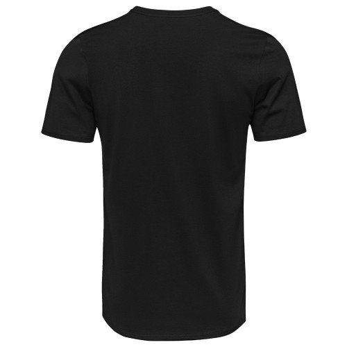 Camiseta Militar Estampada Marines - Preto