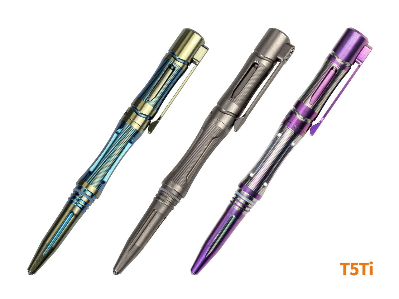 Caneta Tática Fenix T5Ti Tactical - Azul