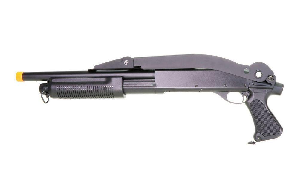 Shotgun Airsoft Tática Spring M870 CM352  ABS Cyma