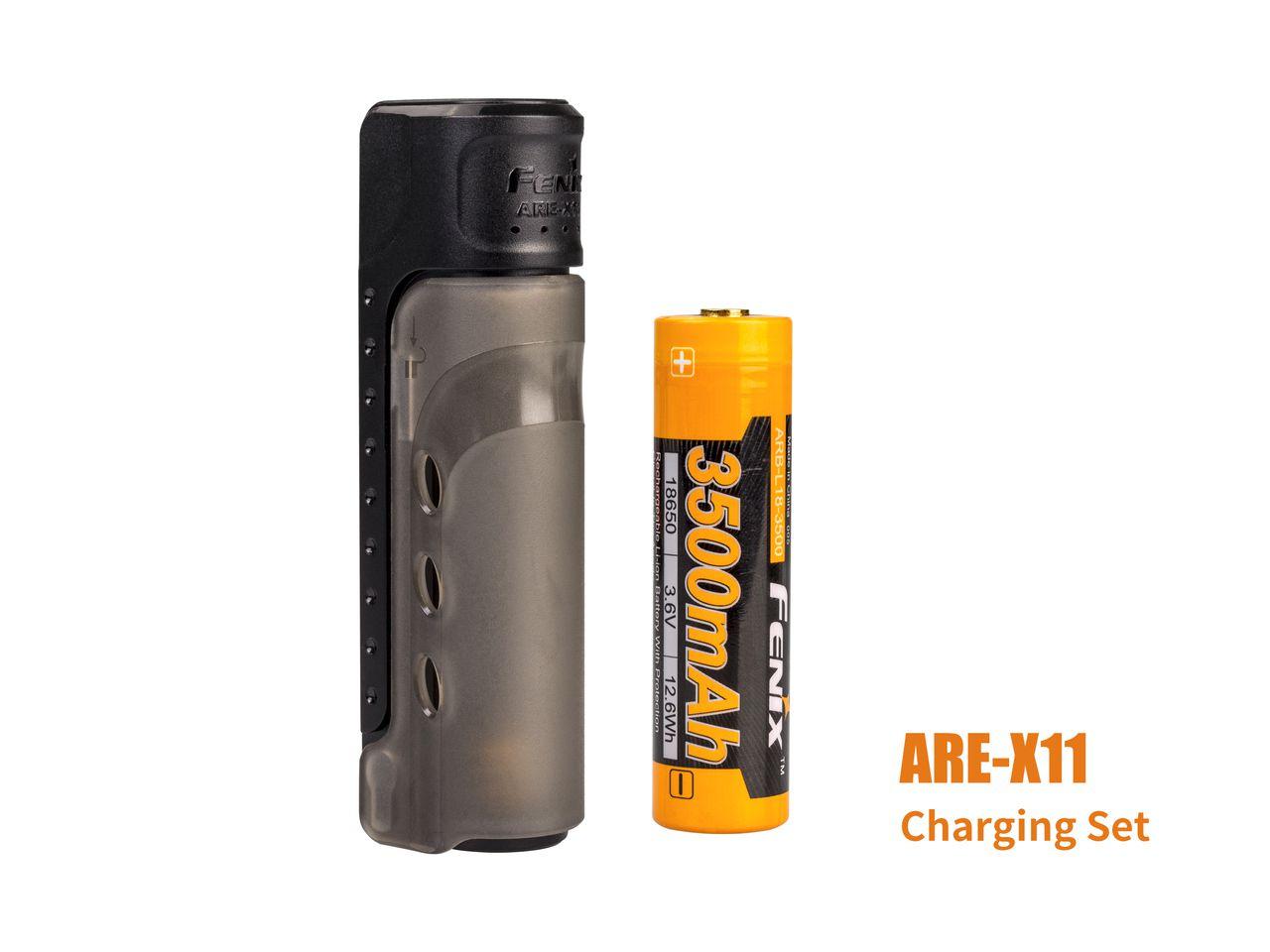 Carregador Fenix ARE-X11 Charging + Bateria 3500mAh