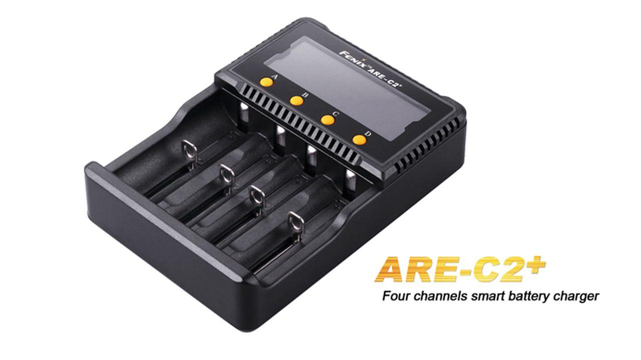 Carregador para Baterias - Fenix ARE-C2+
