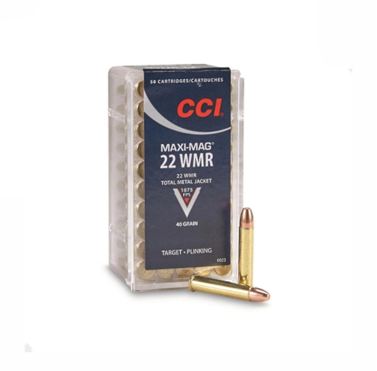 CART CCI .22 MAG MAXI MAG TMJ 40GR C