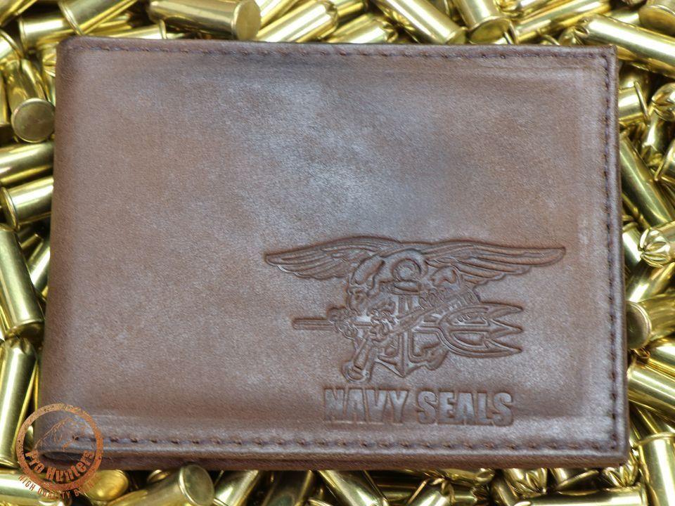 Carteira De Couro Legítmo - Navy Seals