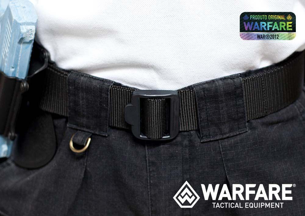 Cinto BDU Warfare - M- Black