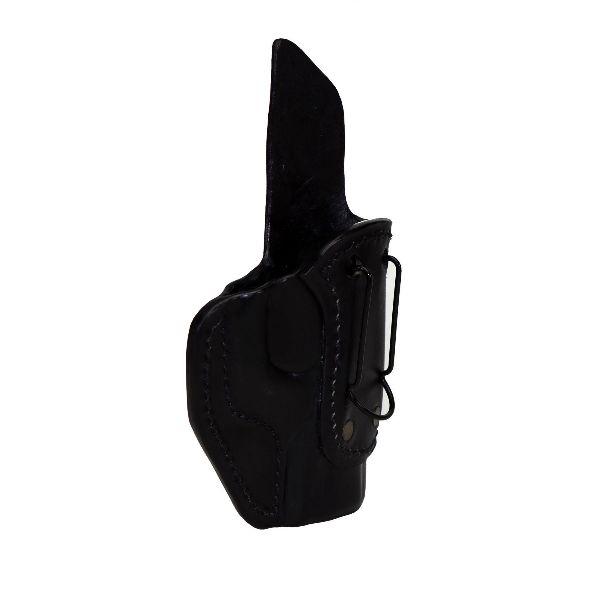 Coldre Velado Clip aço  Preto Audaz para Tanfoglio FT9 Carry