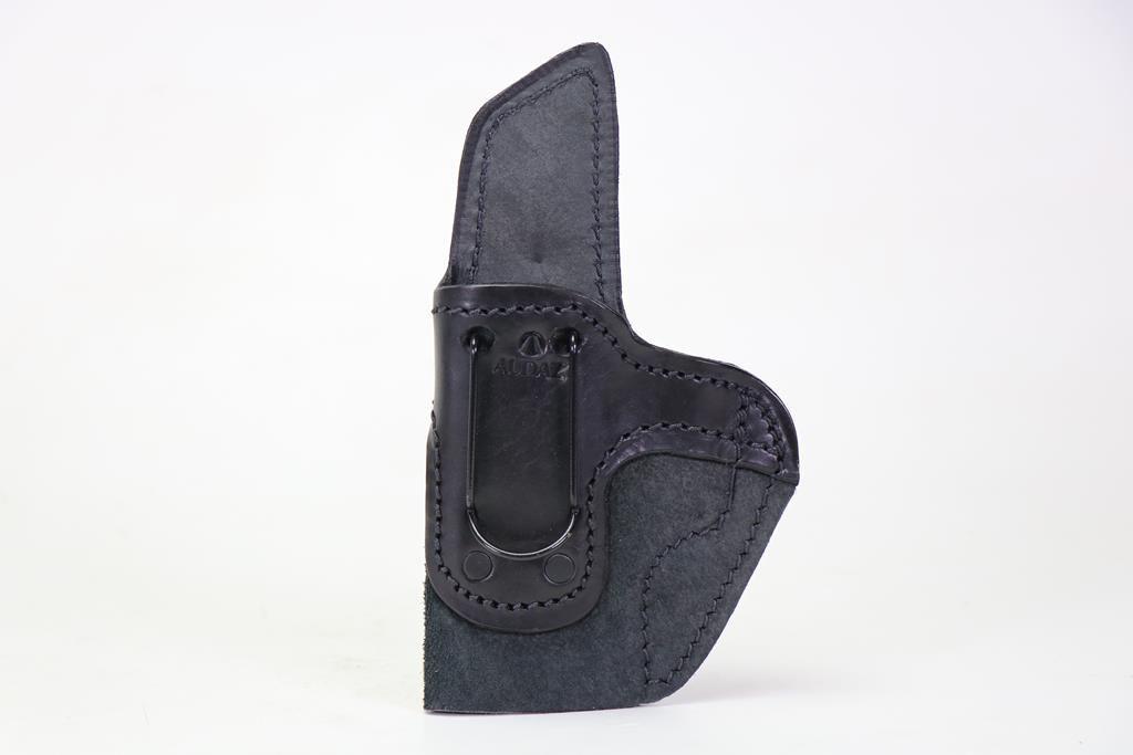 Coldre Velado Clip aço Preto Confort Audaz - para Tanfoglio FT9 Carry - Canhoto