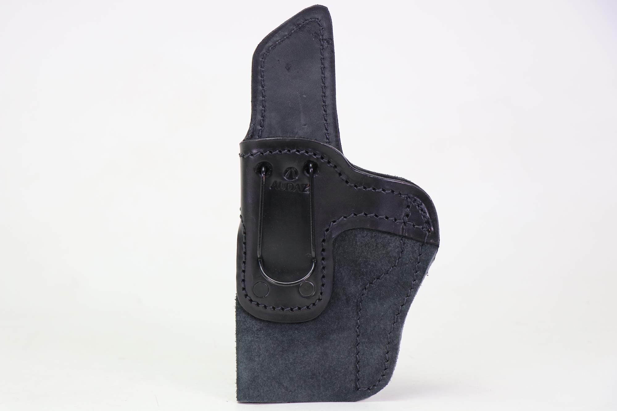 Coldre Velado Clip aço Preto Confort Audaz - para Tanfoglio FT9 Full Size - Canhoto