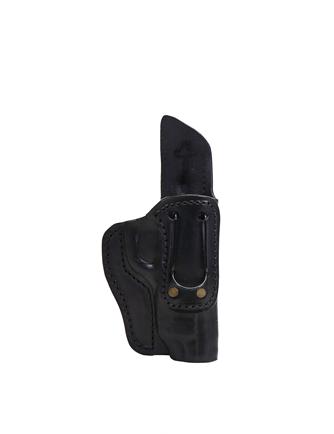 Coldre Velado Clip de aço Interno Preto Audaz para Tanfoglio FT9 Full Size