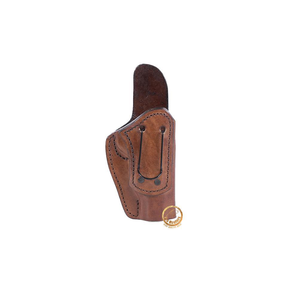Coldre Velado Clip em Aço Marrom para Tanfoglio Witness 1911