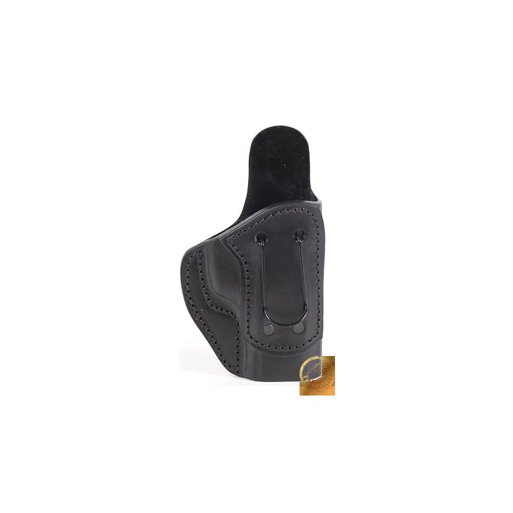 Coldre Velado Clip em Aço Preto Audaz para Pistola Taurus TH