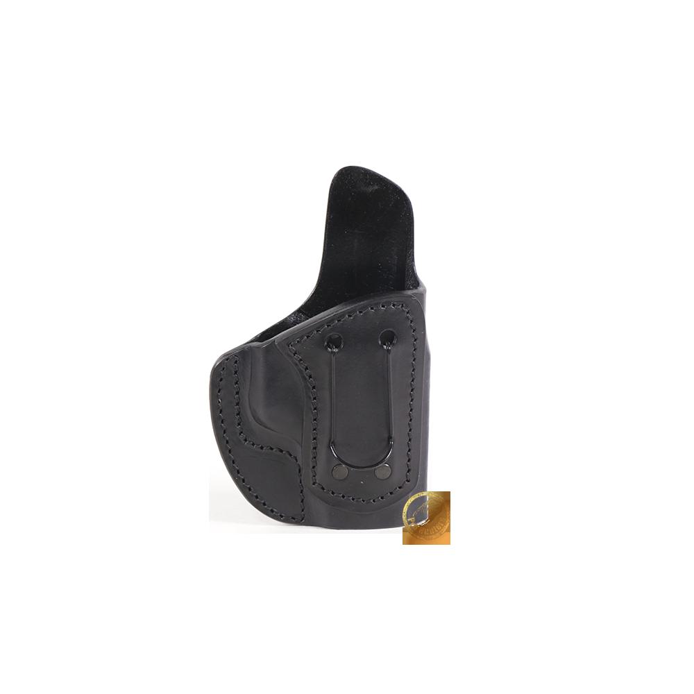 Coldre Velado Clip em Aço Preto Audaz para Pistola Taurus TS9