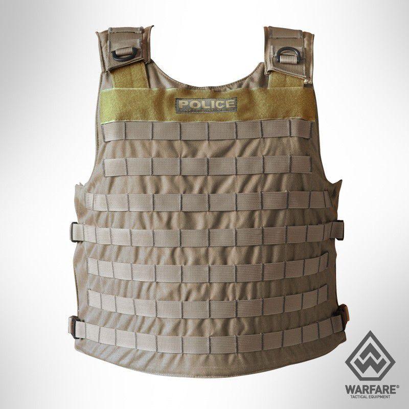 Colete Tático Warfare Police - Coyote