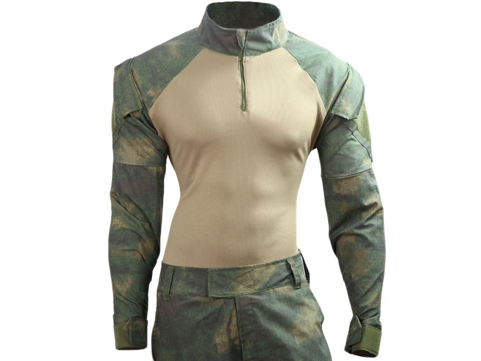Combat Shirt- Atacs Dark Florest