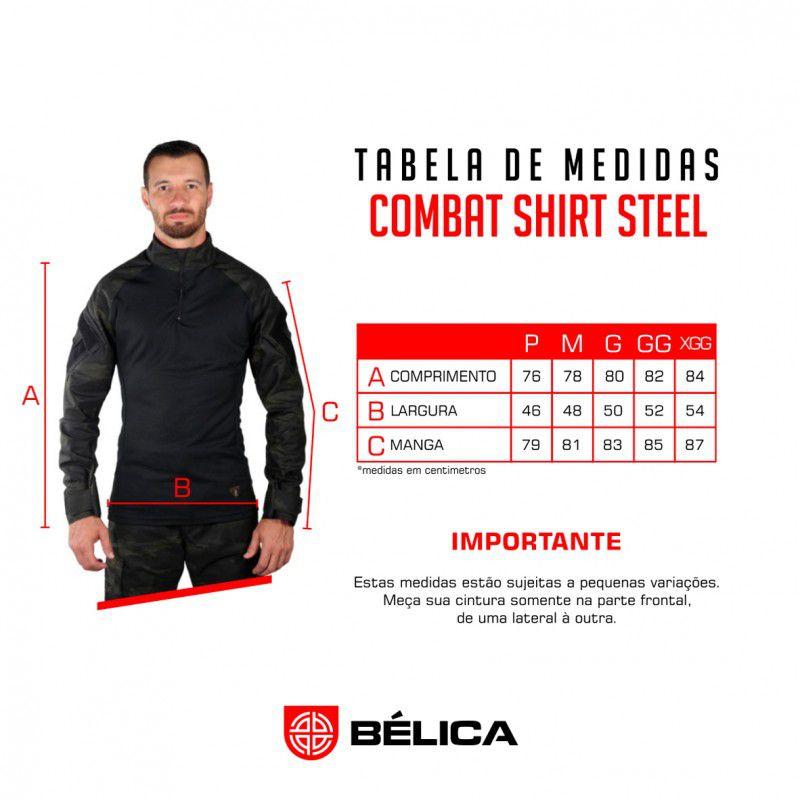 Combat Shirt Bélica - Coyote