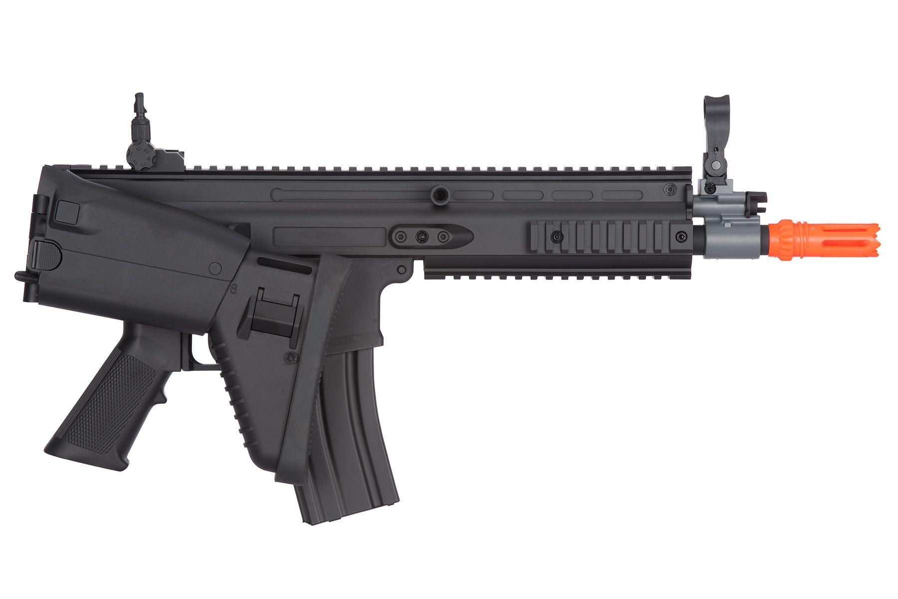 Rifle Airsoft FN SCAR-L Cybergun Black FN Herstal - FRETE GRÁTIS
