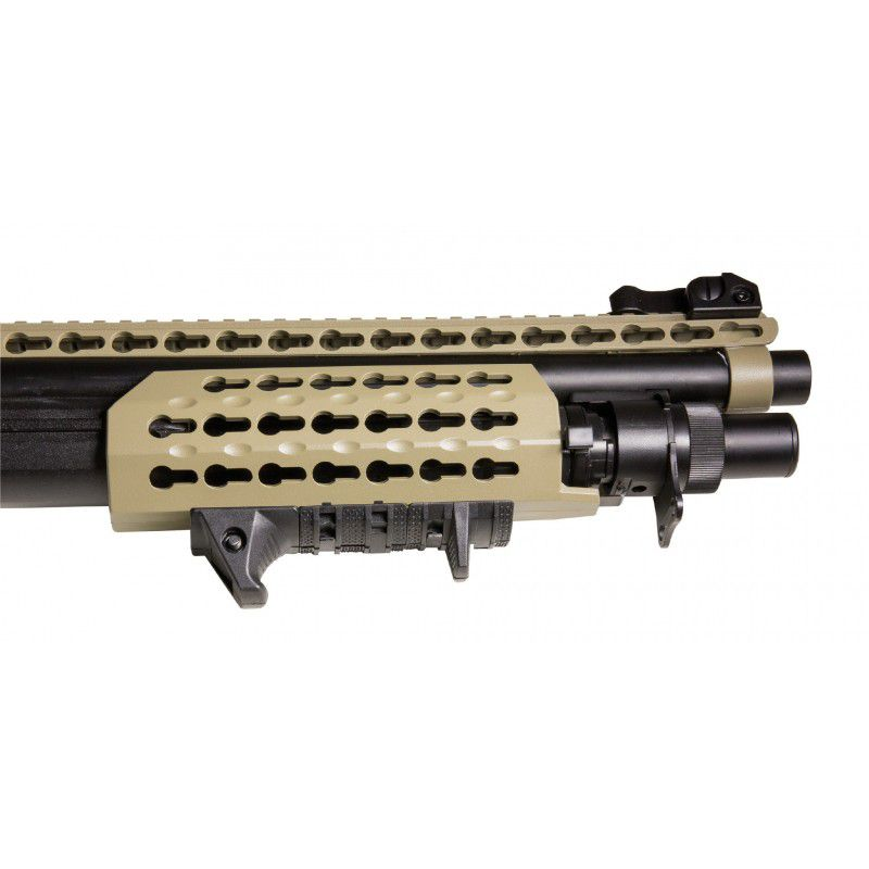 Shotgun Airsoft Spring Velites S-V Secutor  - Tan
