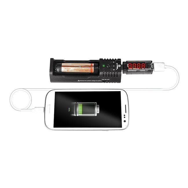 Detector De Voltagem e Amperagem USB
