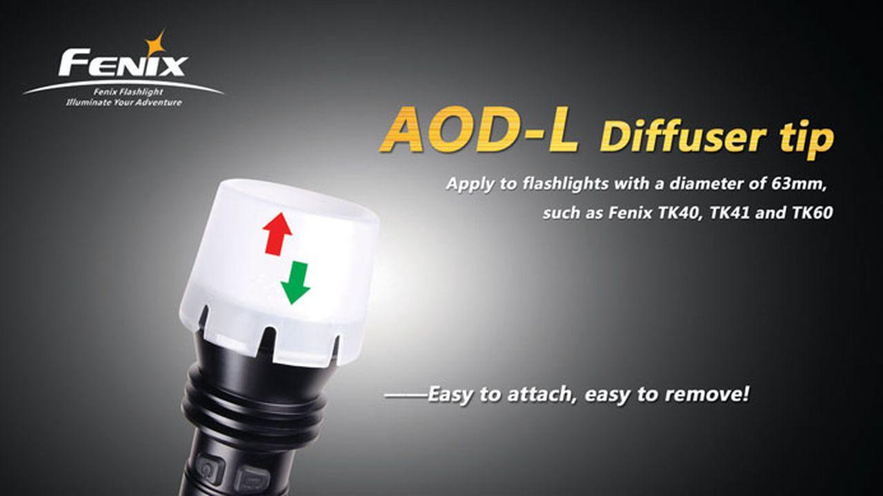 Difusor Fenix AOD-L- TK40, TK41 e TK60
