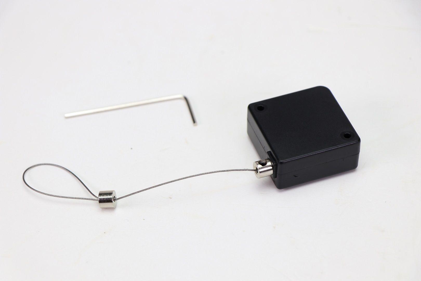 Dispositivo Retrátil antifurto 1m  - (100und.)