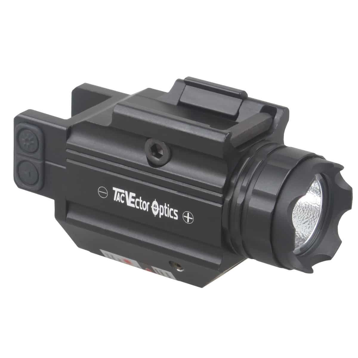 Lanterna de trilho Doublecross Compact com mira laser