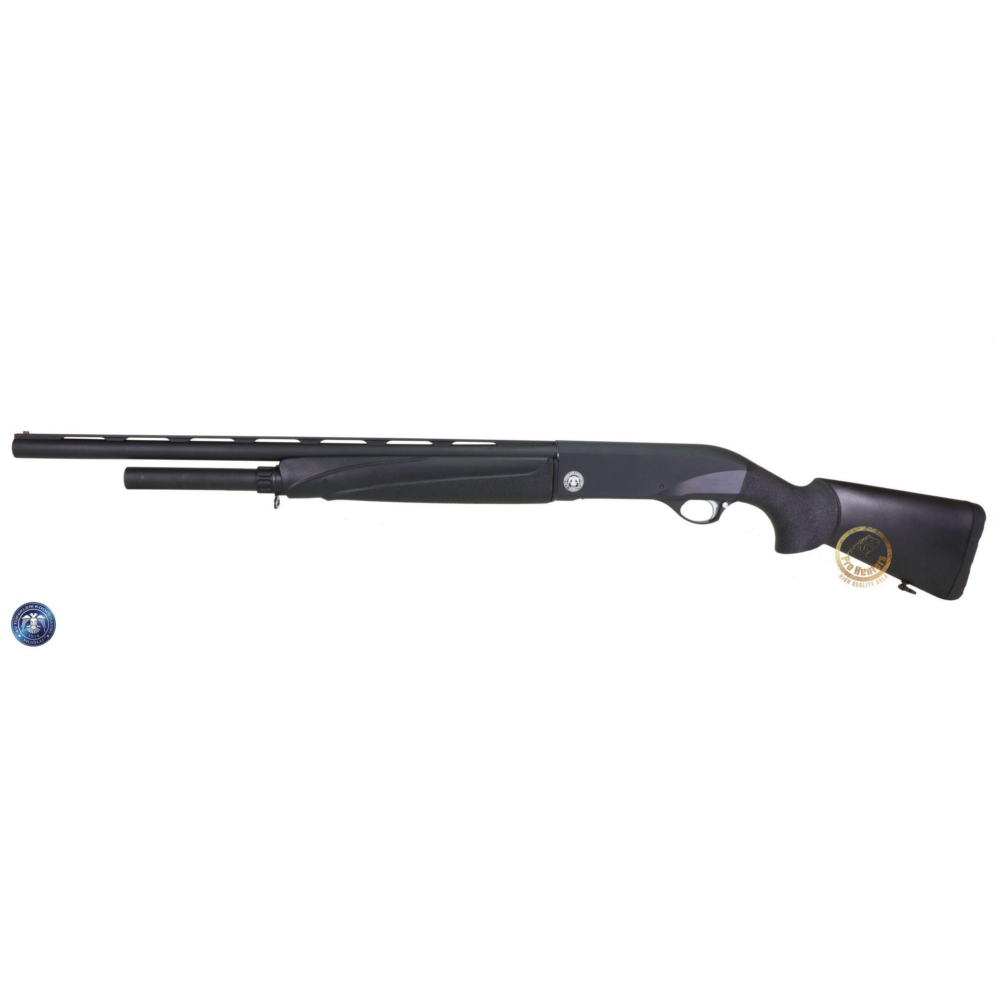Espingarda Huglu GX812 M. Choke Black Plastic - Calibre 12GA