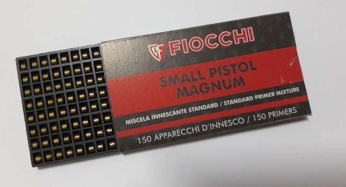 Espoleta Fiocchi SMALL PISTOL  (VENDA SOB CONSULTA NO WHATSAPP)