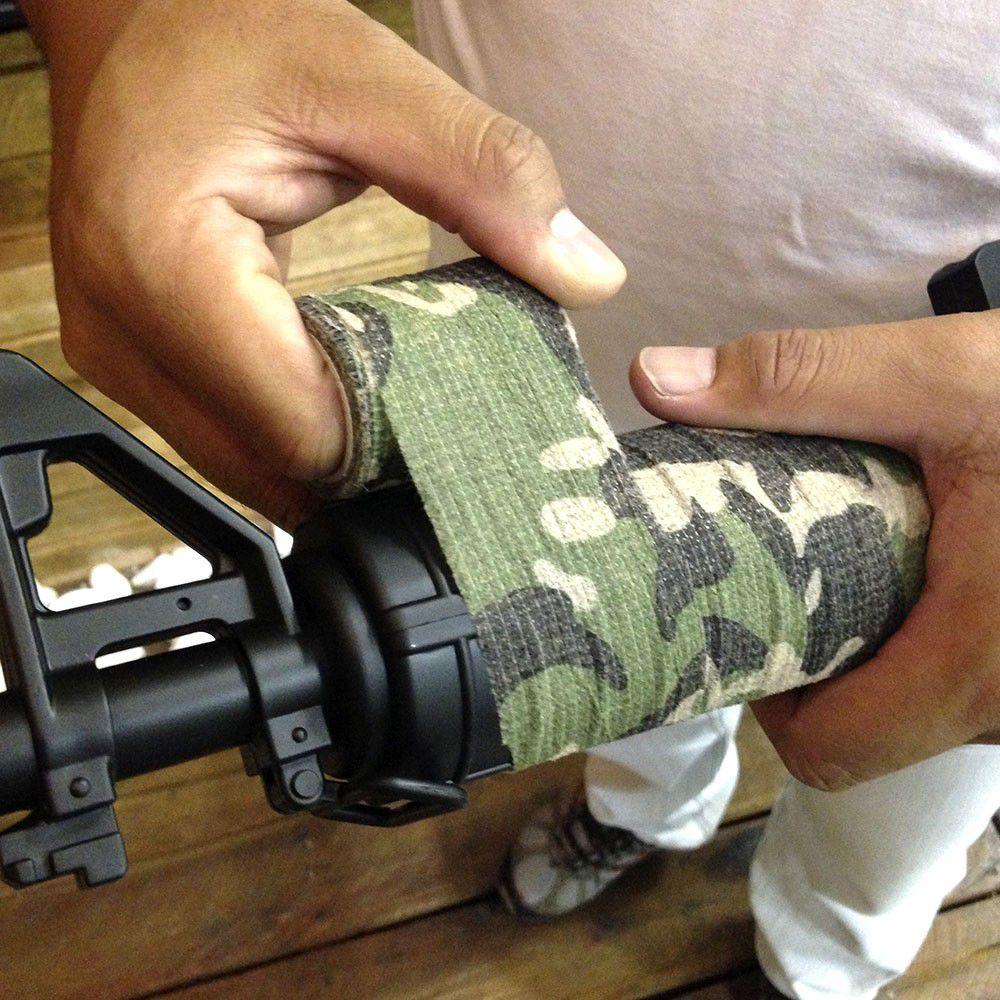 Fita Adesiva para Armas Camo Tape NTK - Camuflado