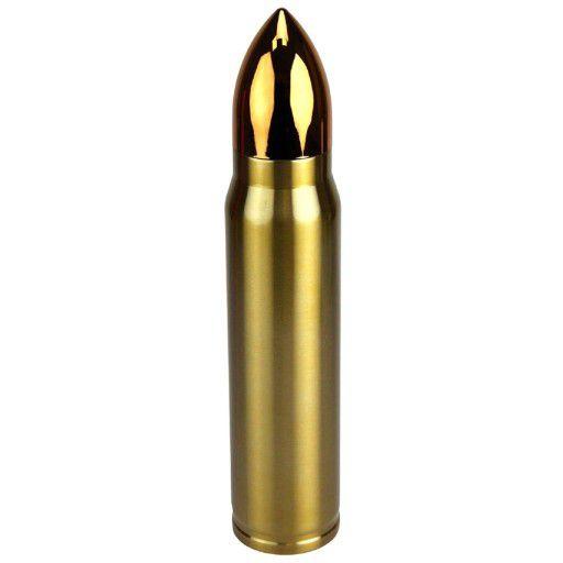 Garrafa Térmica Bullet NTK - Dourada
