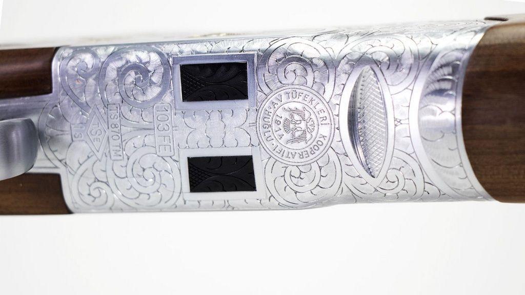 Espingarda Huglu 103FE silver - Calibre 12GA