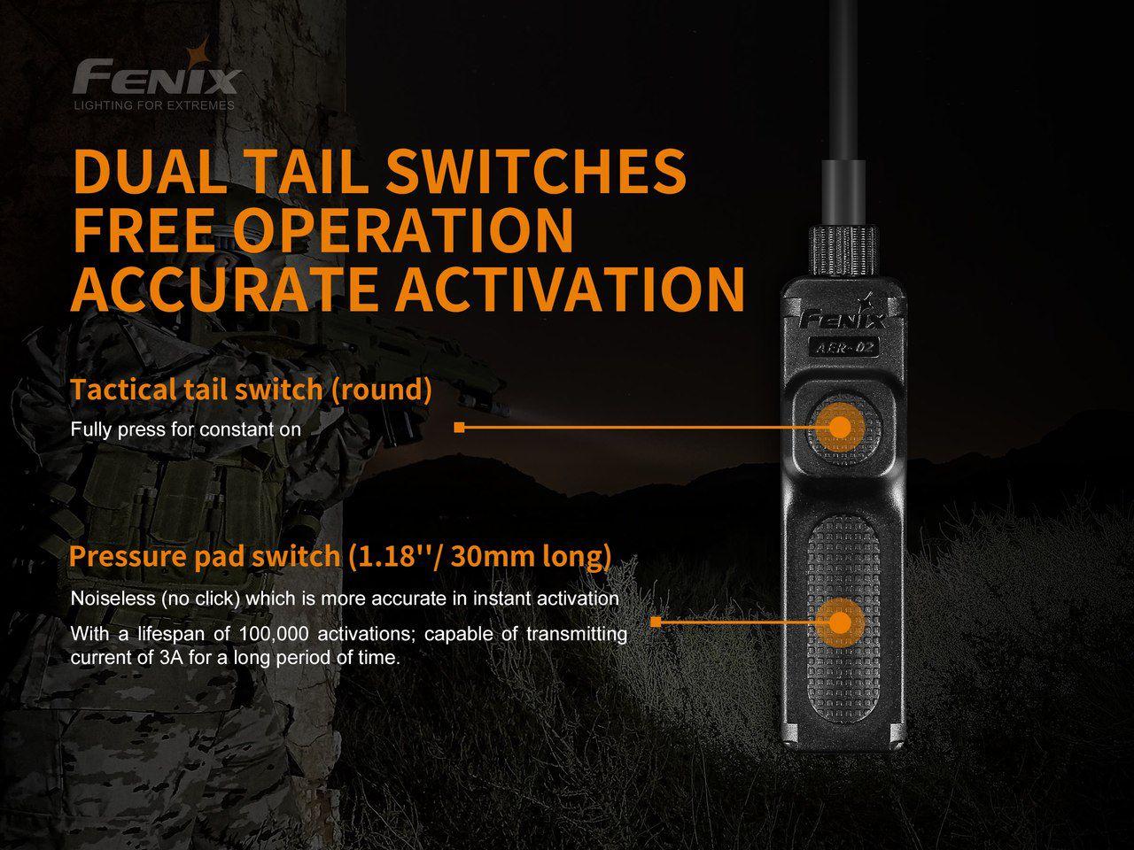 Interruptor tático AER-02 V2.0 - Modelo 2019