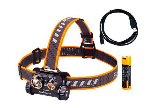 Lanterna de Cabeça Fenix HM65R - 1400 Lumens