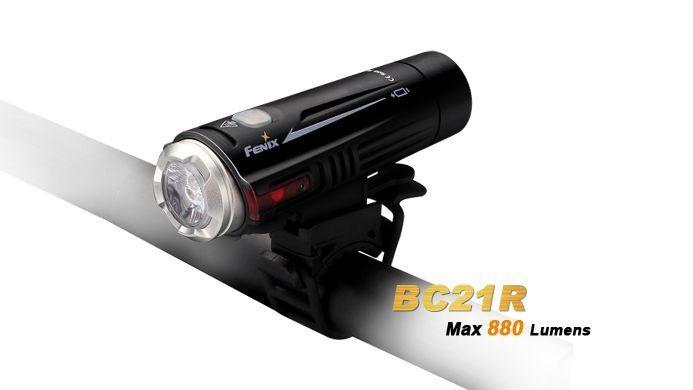 Lanterna Fenix BC21R - Mais De 12h De Autonomia - 880 Lúmens