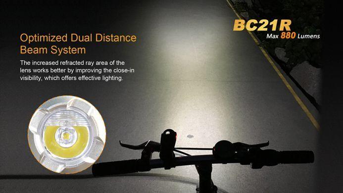 Lanterna para Bike Fenix BC21R  880 Lúmens