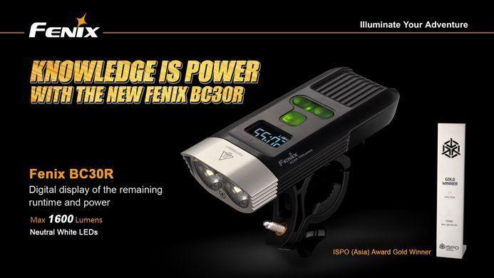 Lanterna Fenix BC30R - Mais De 20h De Autonomia - 1600 Lúmens