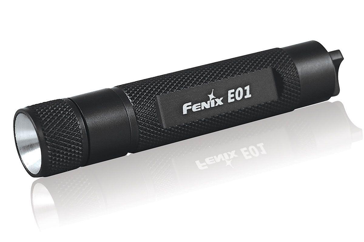 Lanterna Fenix E01 Black - 13 Lumens