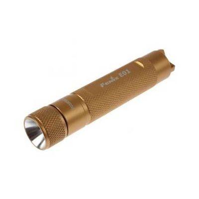 Lanterna Fenix E01 Orange - 13 Lumens