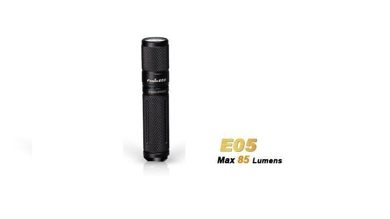 Lanterna Fenix E05 Black