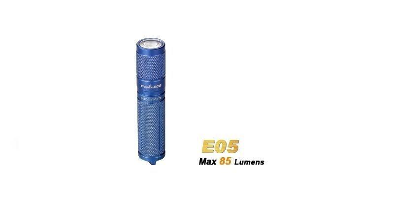 Lanterna Fenix E05 Blue