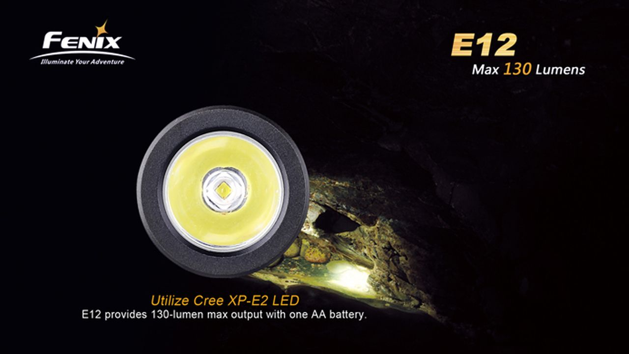 Lanterna Fenix E12-130 Lumens