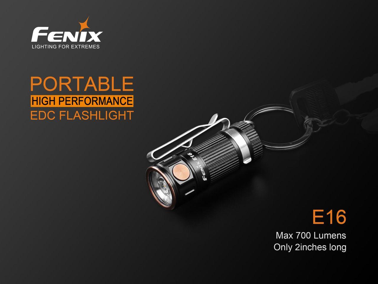 Lanterna Fenix E16 700 Lumens - Ótima para seu EDC