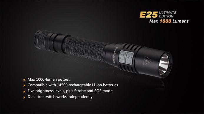 Lanterna Fenix E25 Ultimate Edition- 1000 Lumens