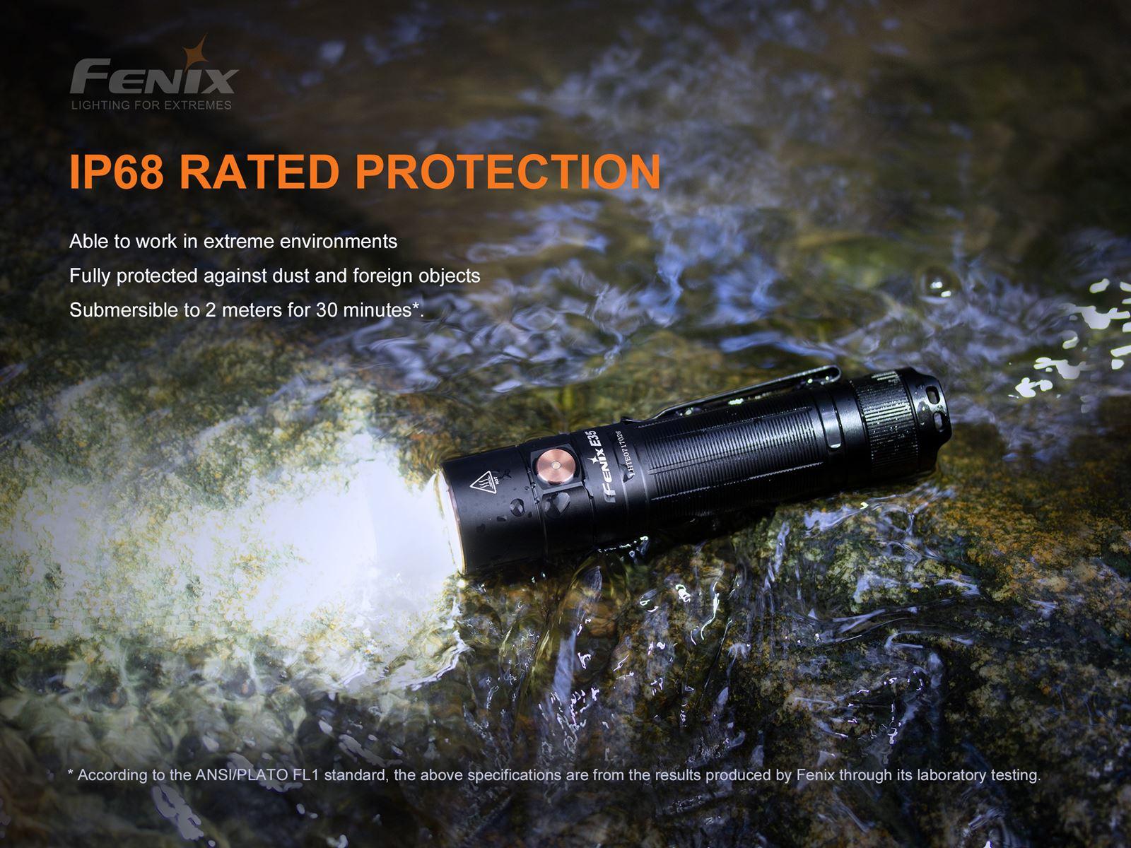 Lanterna Fenix E35 V3.0 - 3000 Lumens