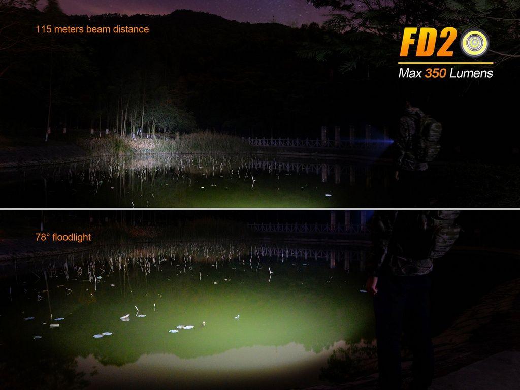 Lanterna Fenix FD20 - Ajuste O Foco Conforme Sua Necessidade