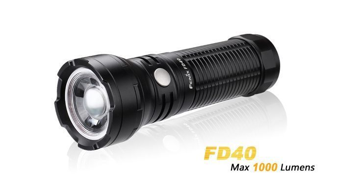 Lanterna Fenix FD40 - Autonomia De Até 308h - 1000 Lumens