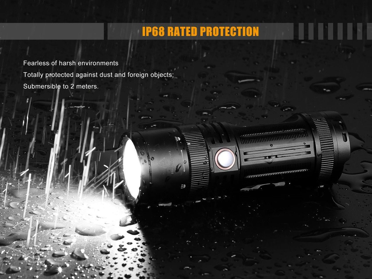 - Lanterna Fenix FD45- Foco ajustável - 900 Lumens