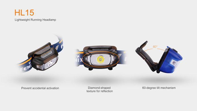 Lanterna Fenix - HL15 Azul 200 Lúmens