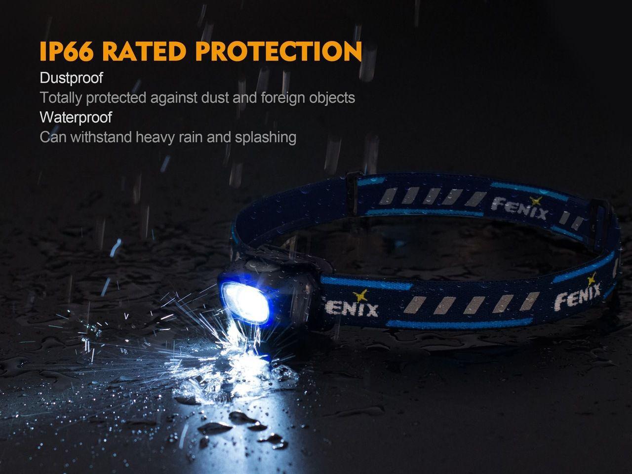 Lanterna Fenix - HL16 Amarelo - 70 Lúmens